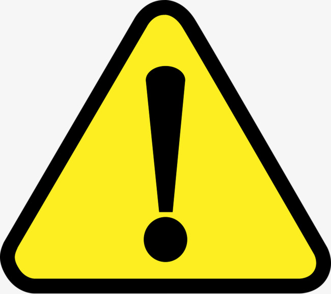 Warning clipart 4 » Clipart Station.