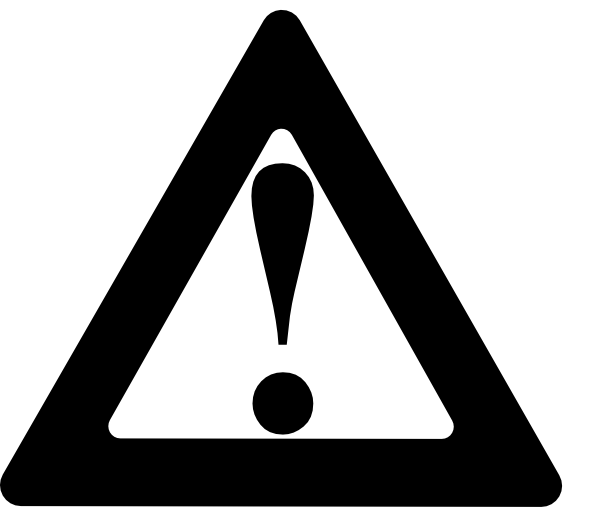Black warning clip art at vector clip art.