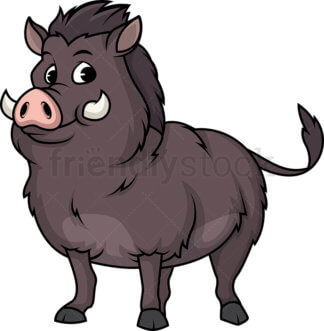 warthog Clipart.
