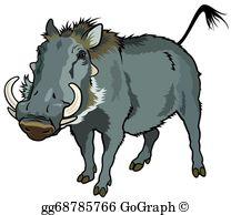 Warthog Clip Art.