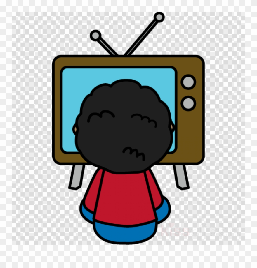 Watching Tv Clipart Television Clip Art.