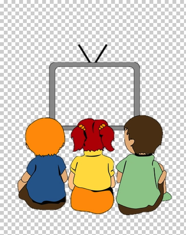 Child Television , watching tv PNG clipart.