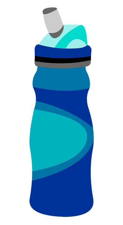 Free illustration water bottle graphic image on clip art.