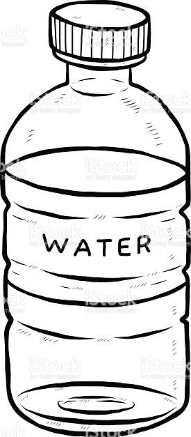 Drink Water Bottle stock vector art 473838148.