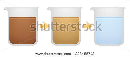 Dirty Water In A Glass Stock Images, Royalty.