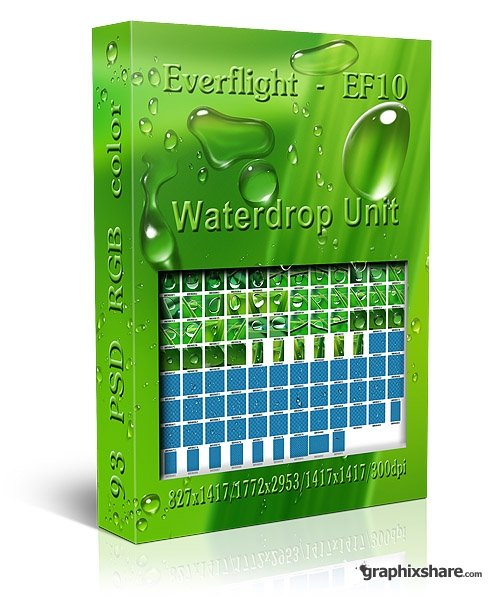 Clipart Water drops.