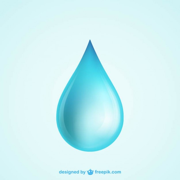 Clipart water drops 93 psd.