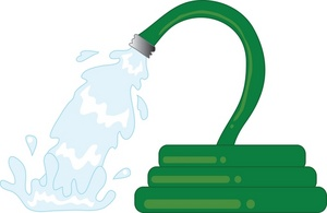 Cartoon Water Hose Clipart.