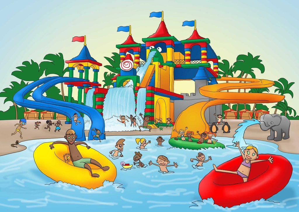 Water Park Clipart Group (+), HD Clipart.