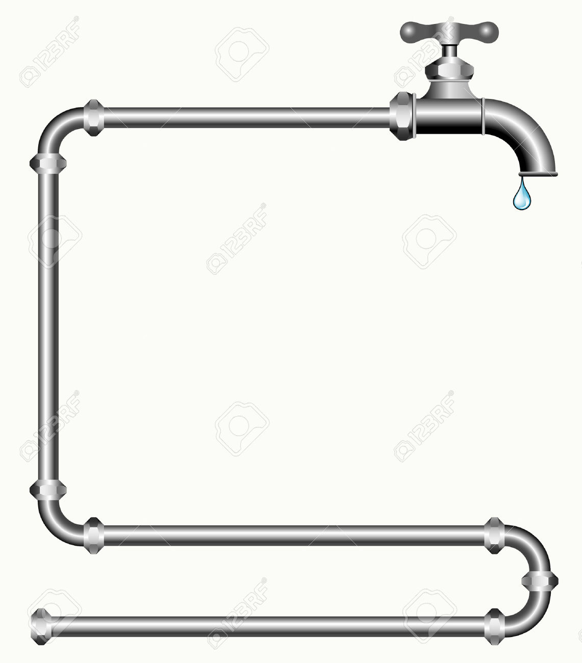 Clipart water pipe clipground