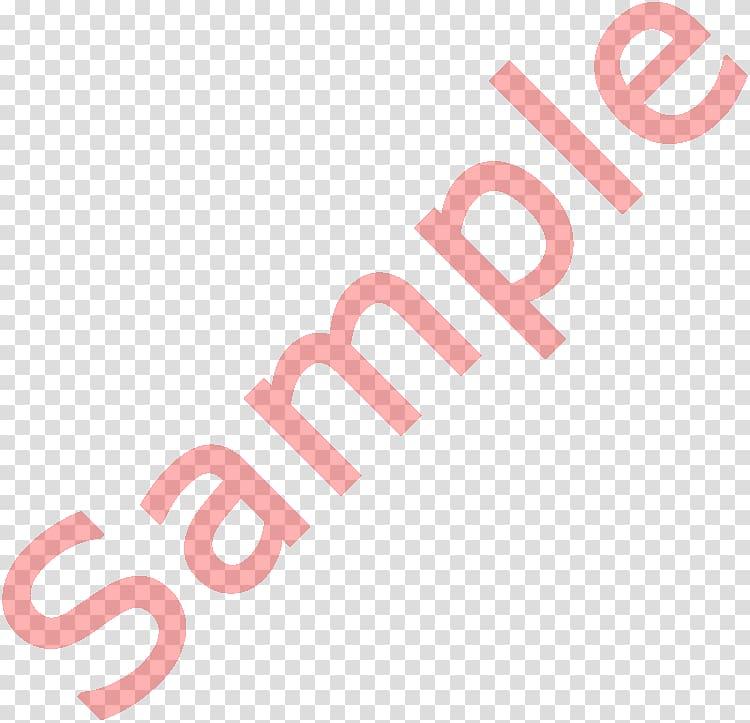 Red sample text, Digital watermarking, watercolor watermark.