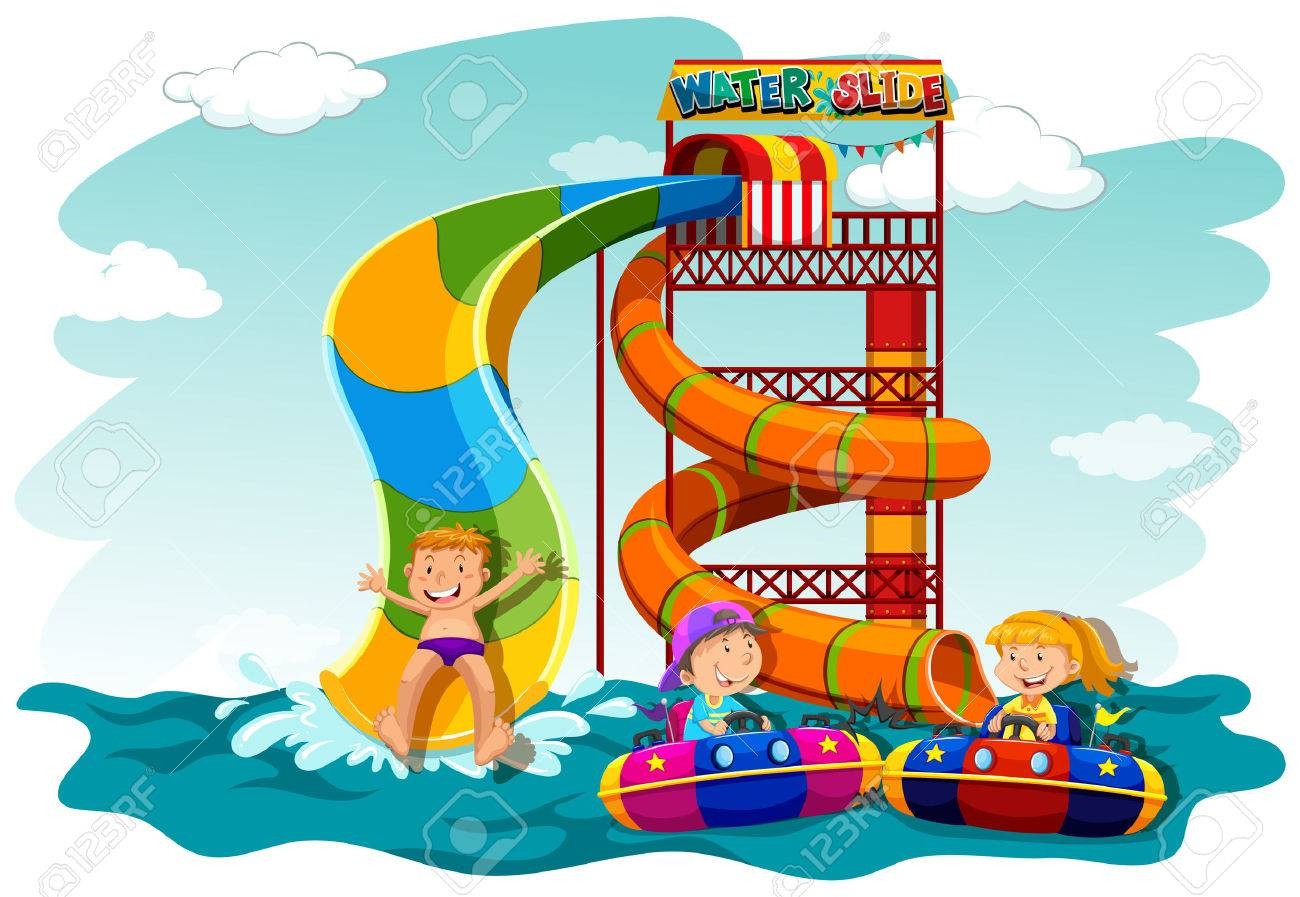 Waterslide clipart 8 » Clipart Station.