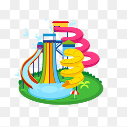 Waterslide clipart 4 » Clipart Station.