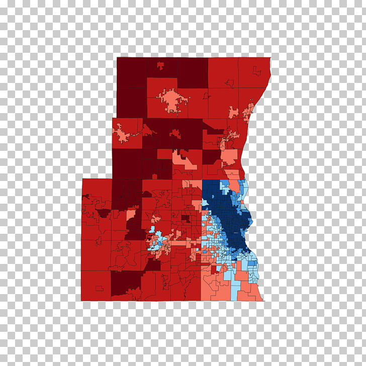 Milwaukee Waukesha Voting Election Chicago, map PNG clipart.