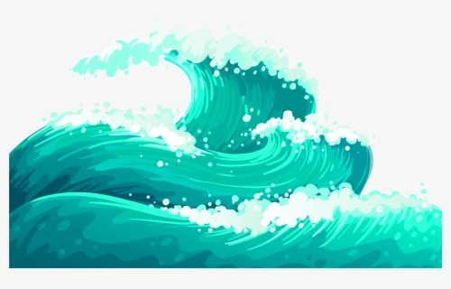 Free Ocean Wave Clip Art with No Background , Page 2.