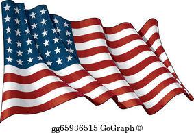 Waving Flag Clip Art.