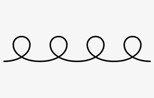 Free Squiggly Line Clip Art with No Background.