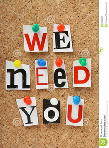 We Want You Poster Clipart.