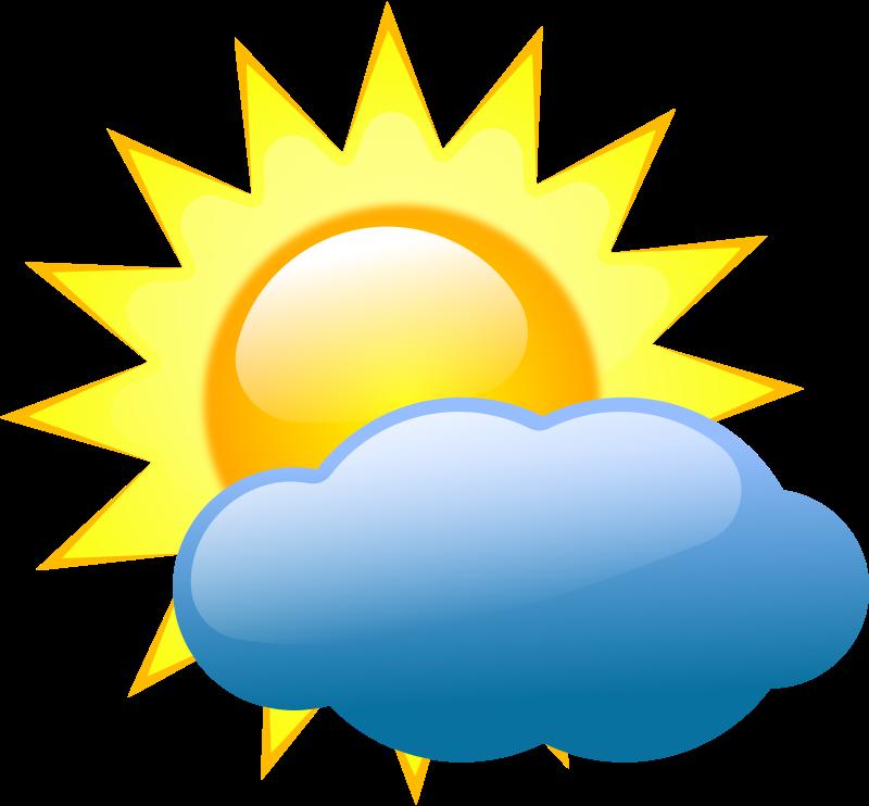 Free Clipart: Weather symbols 2.