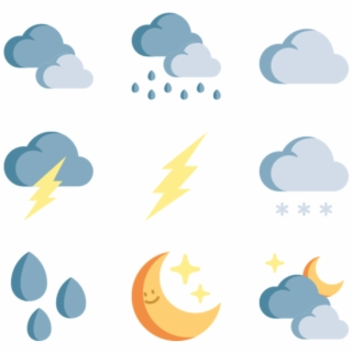 Weather PNG Images.