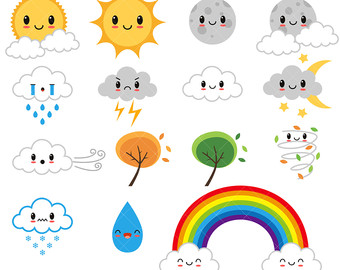 Free Cute Weather Cliparts, Download Free Clip Art, Free.