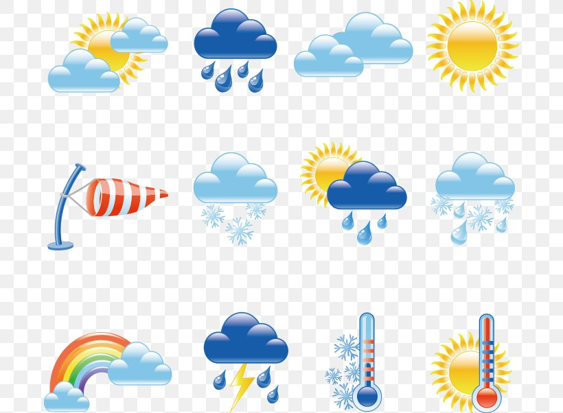 Weather And Climate Icon, PNG, 692x602px, Watercolor.