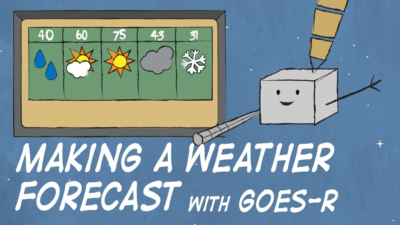 Making a Weather Forecast with GOES.