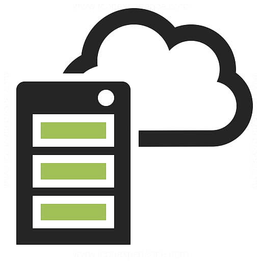 Web server Cloud computing Web hosting service Icon, Cloud Hosting.