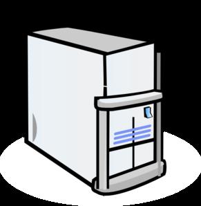 Web Server clip art.