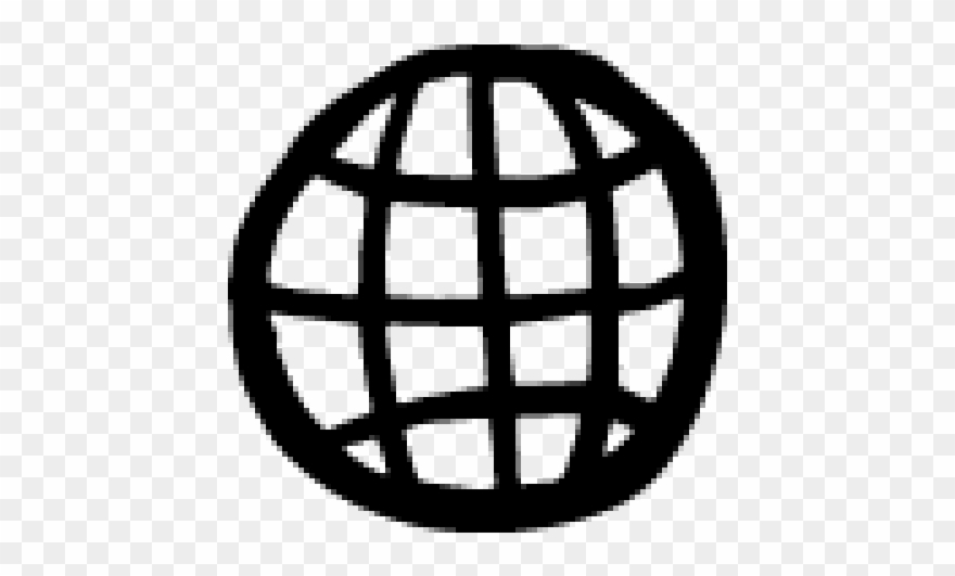 Drawn Globe Icon.