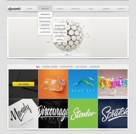 Free Dynamic Free PSD Website Templates Clipart and Vector.