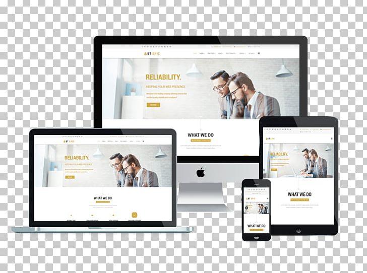 Responsive Web Design WordPress Web Template System Theme.