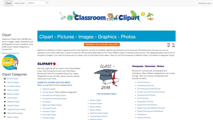 Free Clipart For Teachers: Top 12 Sources To Find What You Need.