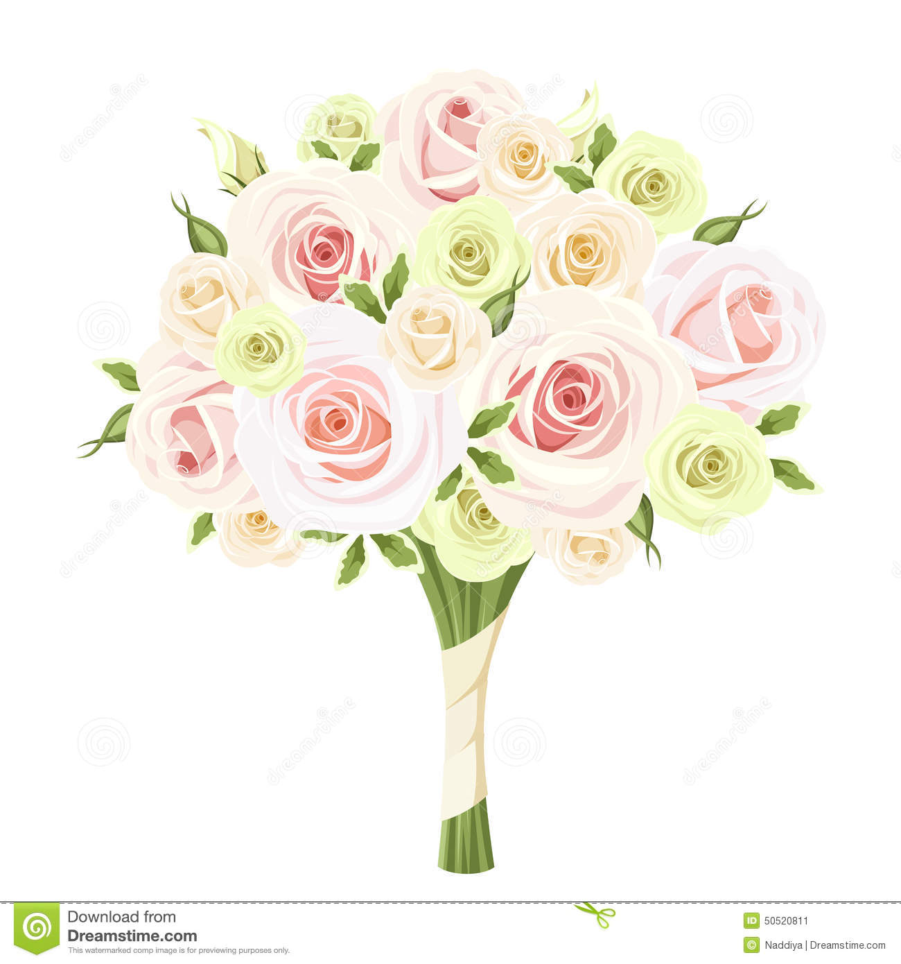Wedding bouquet clipart 5 » Clipart Station.
