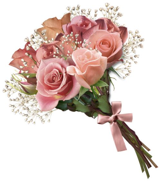 Wedding Bouquets Clipart.