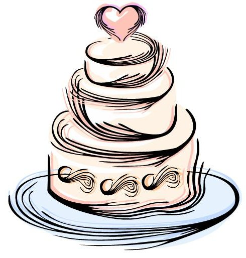 Wedding cake clipart 1 » Clipart Station.