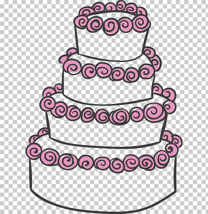 Wedding cake , Wedding elements PNG clipart.