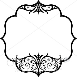 Clipart Wedding Design.