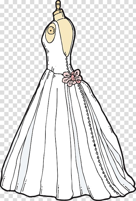 Bridesmaid Wedding Dress , Dresses transparent background.