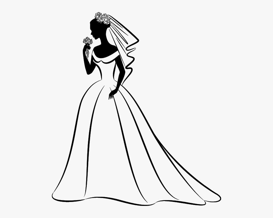 Bride Wedding Clip Art.