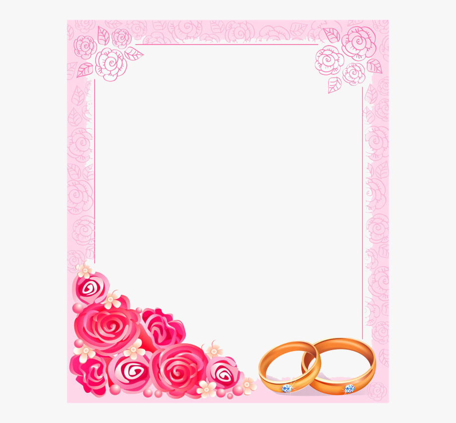 Clipart Borders Marriage.