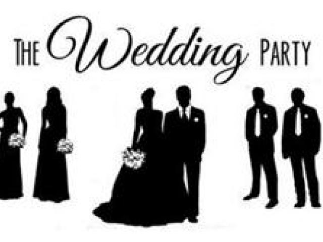 Wedding Party Clipart.