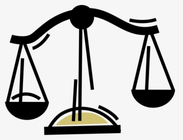 Vector Illustration Of Weighing Scales Force.