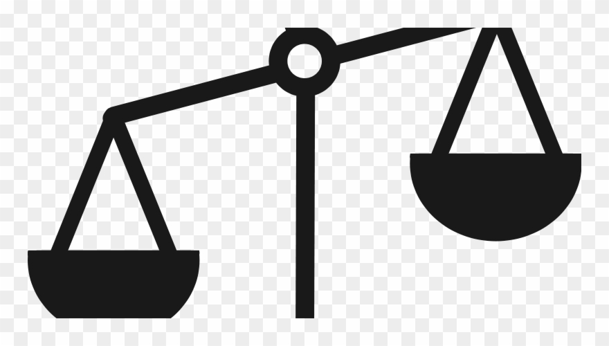 Transparent Weighing Scale Clipart.