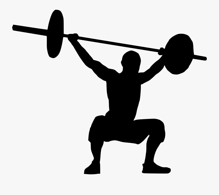 Weight Lifting Clipart Png Transparent Png , Png Download.
