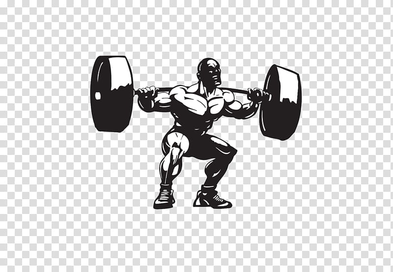 Fitness, Weight TRAINING, Olympic Weightlifting, Squat.