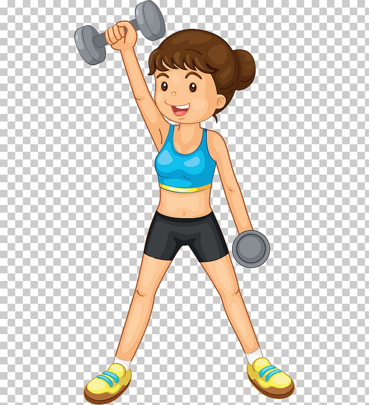 Exercise Physical fitness Weight training , woman PNG.