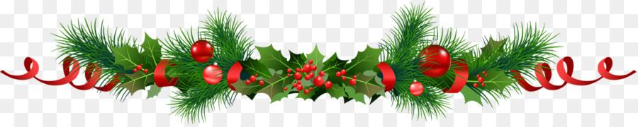 Girlande, Weihnachten, Clip art.