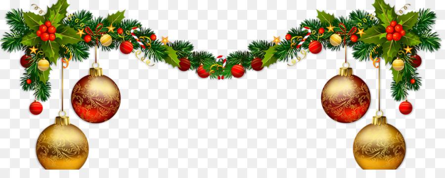 Garland Girlande Weihnachten Morgen ist Weihnachten.