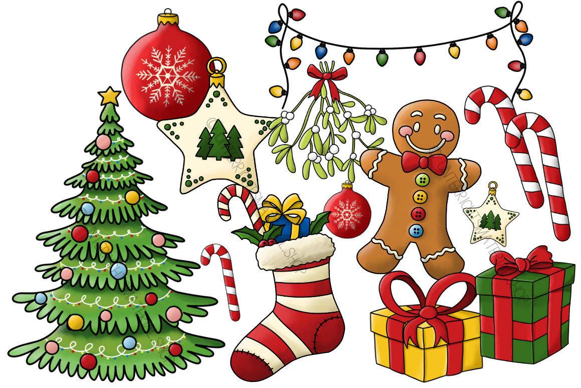 Weihnachten Clipart.